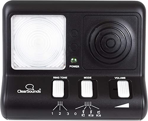 discount ClearSounds CR200 ClearRing wholesale Ring Signaler Booster with new arrival Flashing LED Strobe Ringer for Analog Telephones Landline online