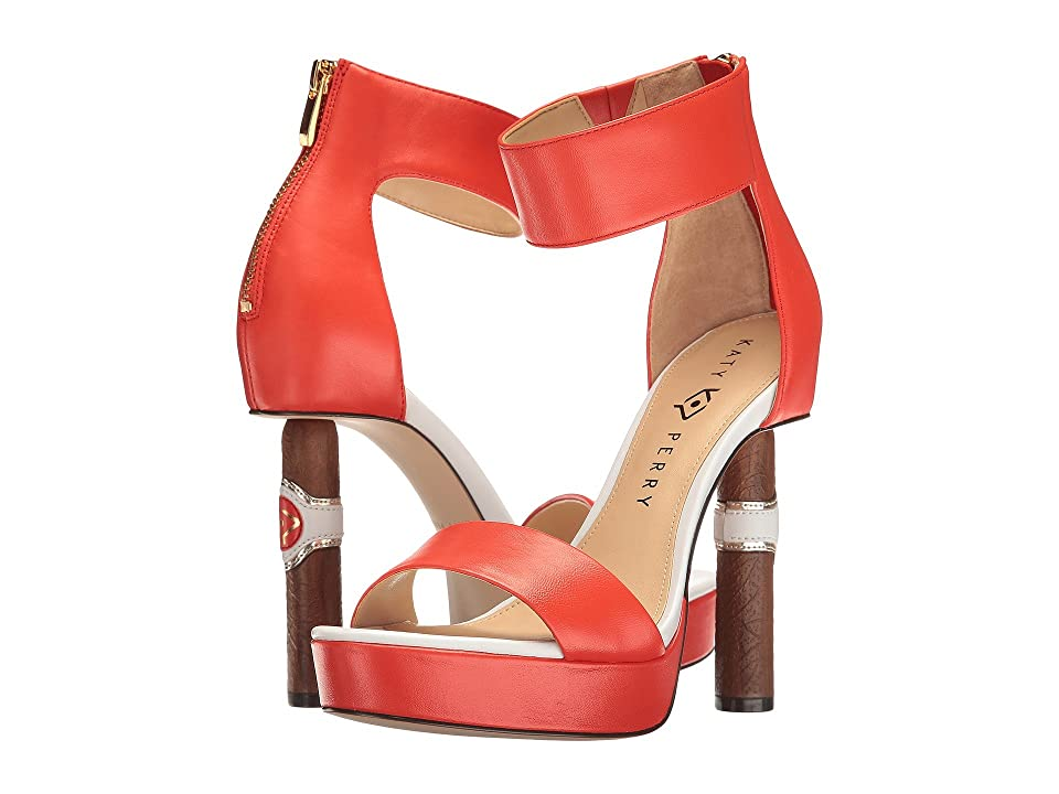 Katy Perry The Jackie (Red/Orange Nappa) Women