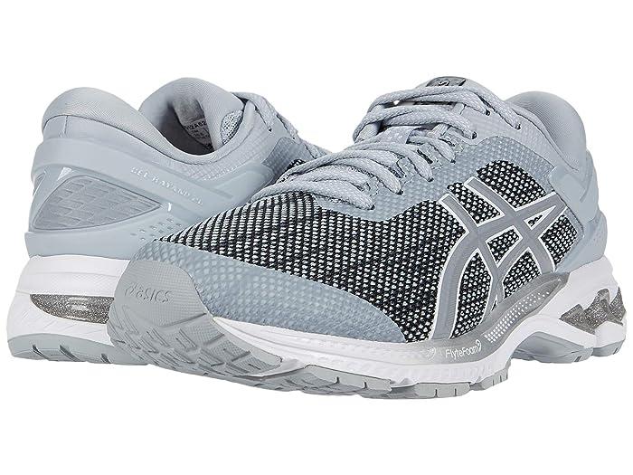 ASICS  GEL-Kayano 26 (Piedmont Grey/Sheet Rock) Womens Running Shoes