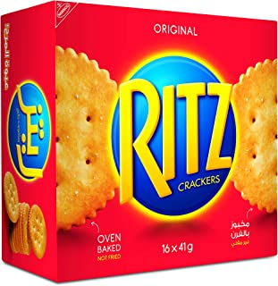 Ritz Crackers Original 41g, Box of 16 packs (16 x 41g)