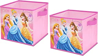 Disney Princess Storage Cubes, Set of 2, 10-Inch