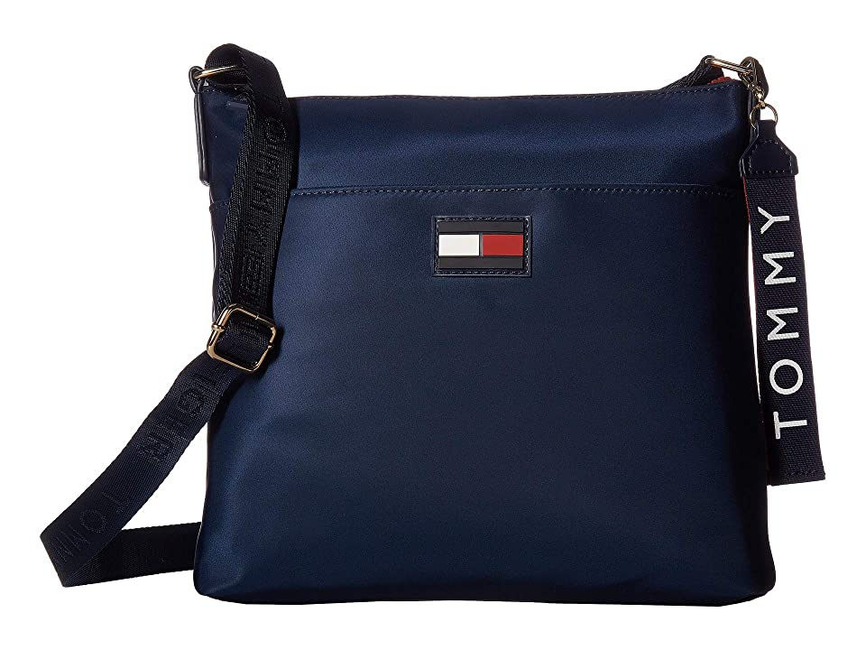 Tommy Hilfiger Leah North/South Crossbody (Tommy Navy) Cross Body Handbags