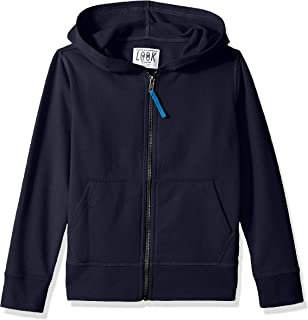 Amazon/ J. Crew Brand- LOOK by crewcuts Boys' Zip Front Hoodie