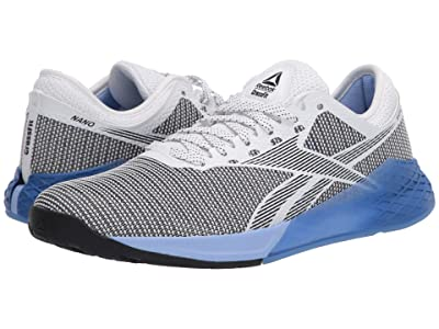 Reebok Nano 9 (White/Black/Blue Blast) Women