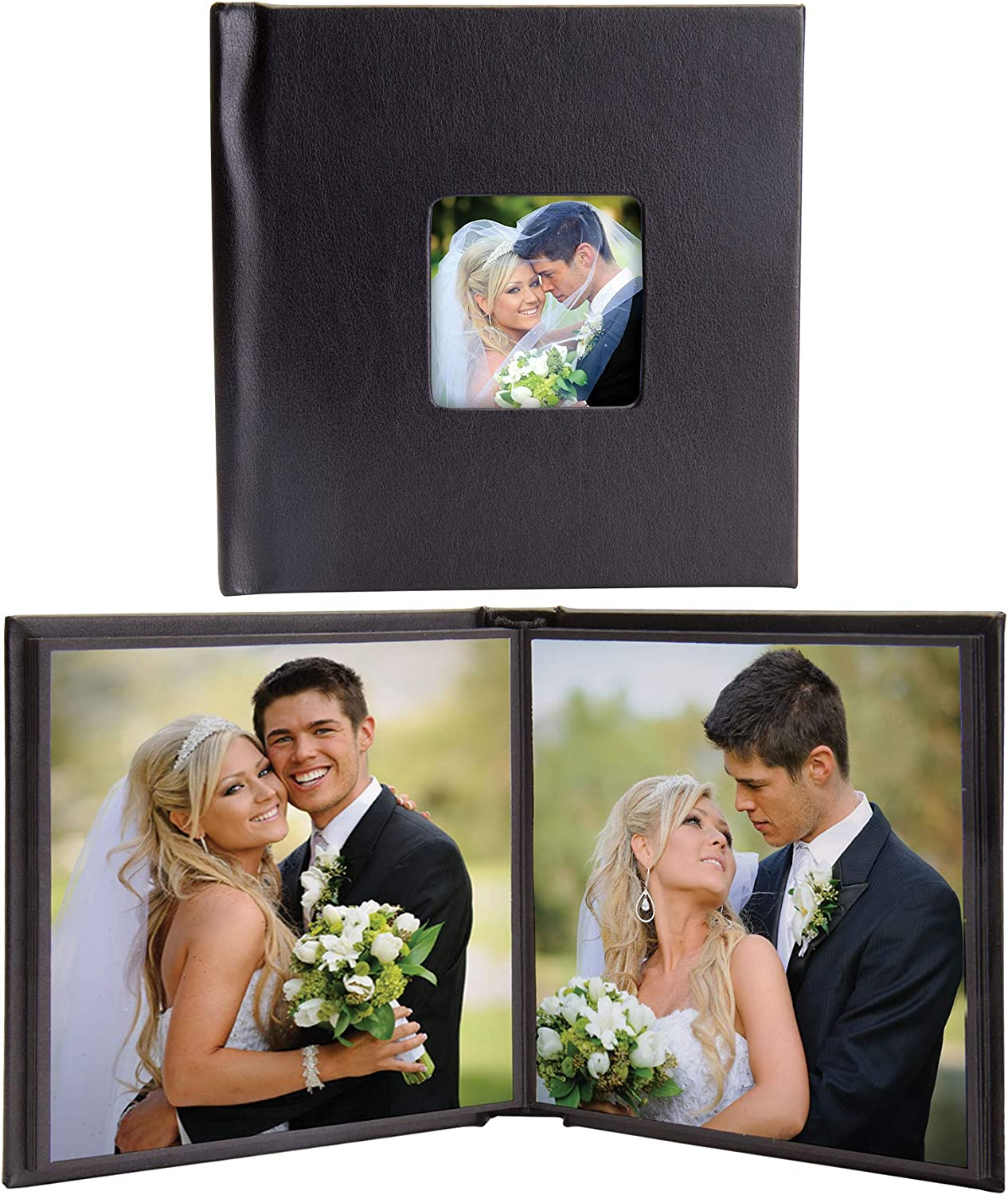 San Antonio Mall 5x5 Square Self-Stick Photo Albums with of - Case Award-winning store 12 Cover Cameo