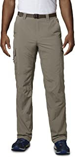 Columbia Men's Silver Ridge Cargo Sun Pant, Moisture Wicking