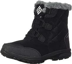 Columbia Women's Ice Maiden Shorty Winter Boot, Waterproof Leather