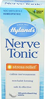 Hyland's, Nerve Tonic Stress Relief, 100 Count