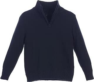 Gioberti Boy's Knitted Half Zip 100% Cotton Sweater
