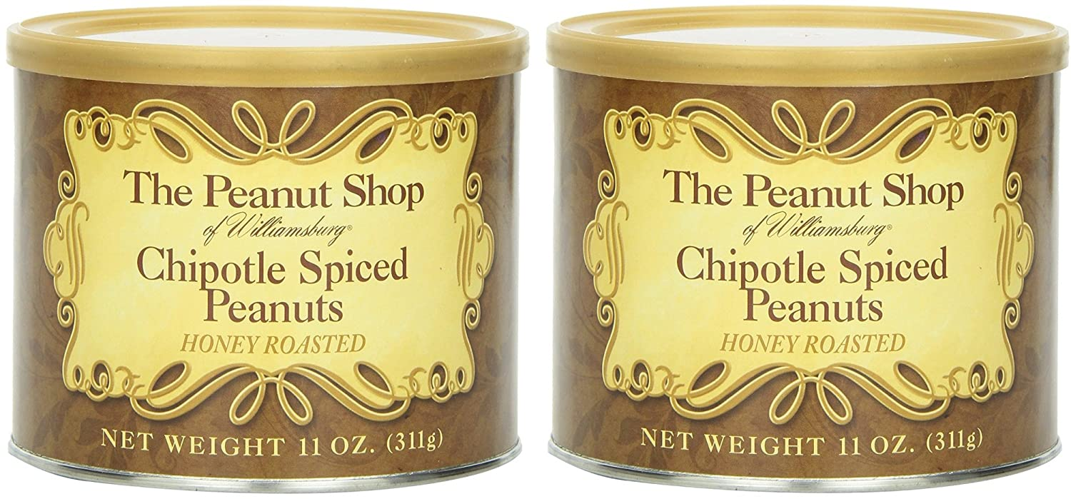 The Peanut Shop of Williamsburg Pe Reservation Spiced Honey Latest item Chipotle Roasted