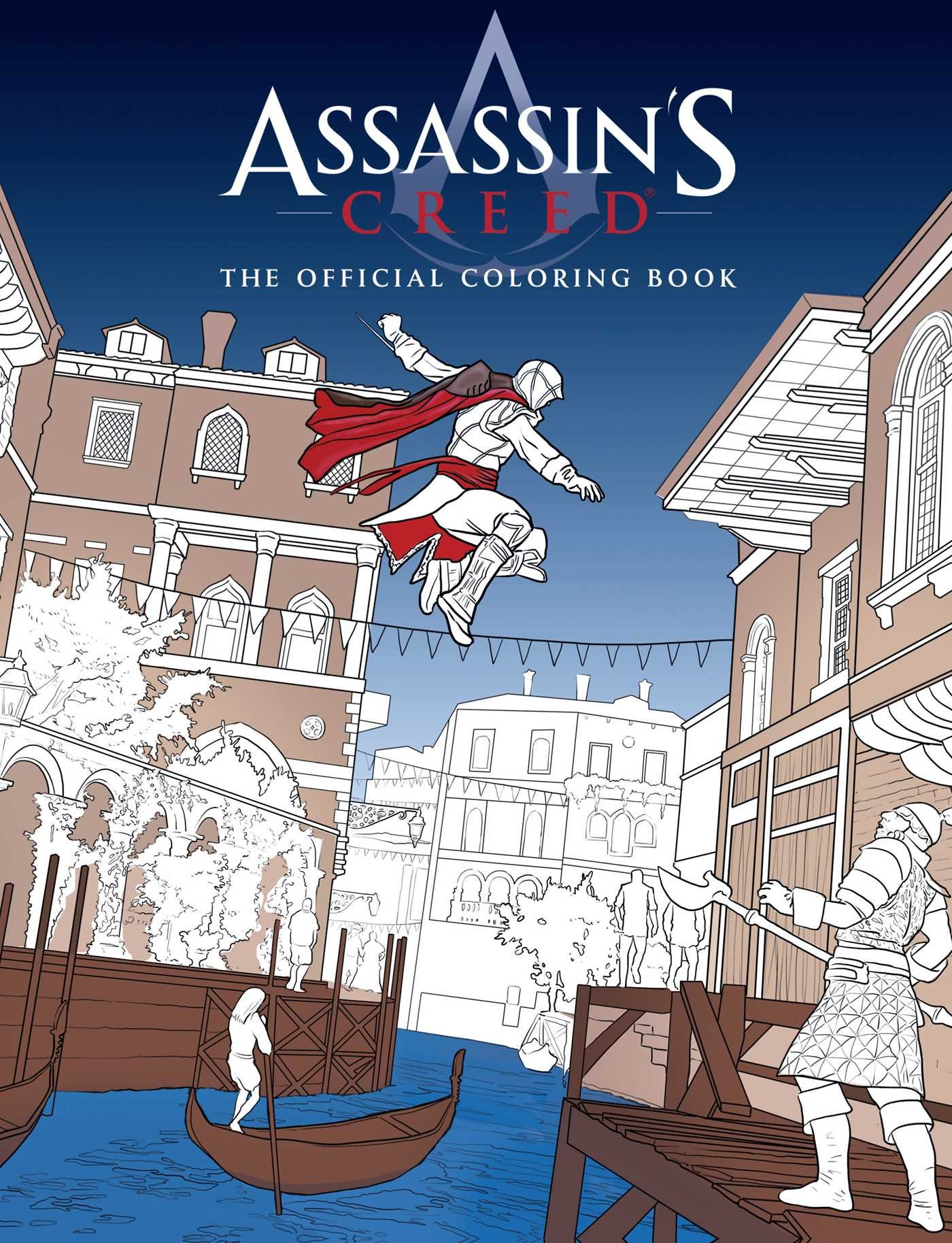 Download ASSASSIN'S CREED: THE OFFICIAL COLORING BOOK 