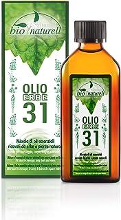 Bio 31 Kräuteröl 100 ml Vitamol belebend für Muskelmassagen und Aromatherapie - Nicht fettend
