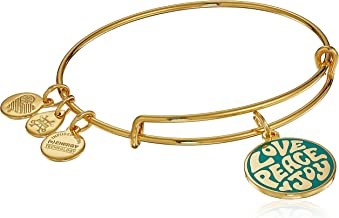Alex and Ani Women's Words are Powerful Love Peace Joy Bangle