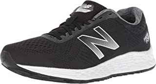 New Balance Women's Arishi V1 Fresh Foam Running Shoe, Black/White, 9.5 B US