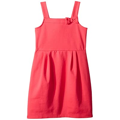 Janie and Jack Ponte Bow Dress (Toddler/Little Kids/Big Kids) (Pink) Girl