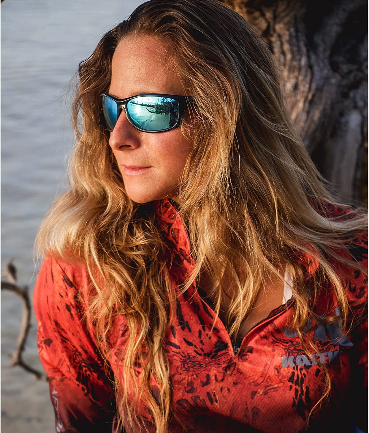Extremus Rainier Polarized Sport Sunglasses for Men and Women,Ideal for Driving Fishing Cycling and Running,UV EYE Protection