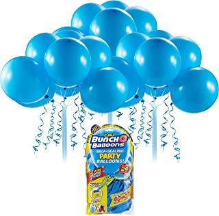Bunch O Balloons Self-Sealing Latex Party Balloons (24 x Blue 11in Balloons) by ZURU