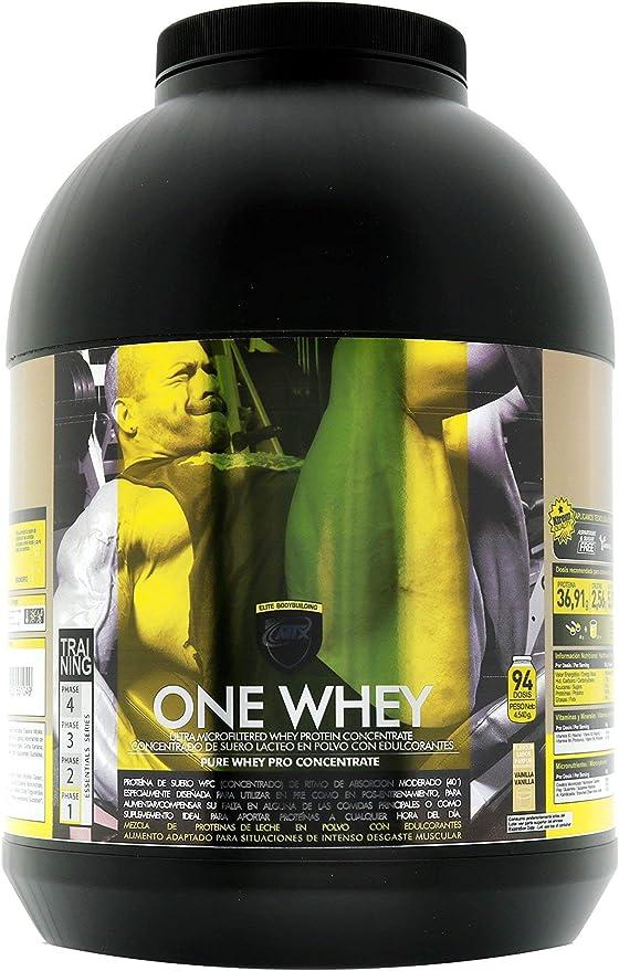 MTX nutrition OneWhey [4,535 kilos ] 10 Lbs. HELADO DE VAINILLA - Proteínas de Suero Premium fabricado por Microfiltración muy bajo en lactosa, grasa