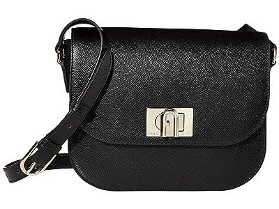 Furla 1927 Small Shoulder Bag 23 (Nero) Handbags