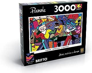 Quebra-Cabeças Romero Britto 3000 Peças Grow