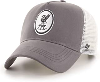 `47 Liverpool FC Adults Grey Boathouse MVP Cap LFC Official
