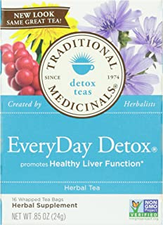 Traditional Medicinals, EveryDay Detox, 16 ct
