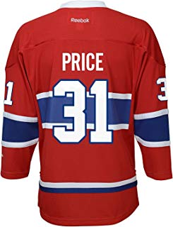 Carey Price Montreal Canadiens Red LNH Kids 4-7 Reebok Home Replica Jersey