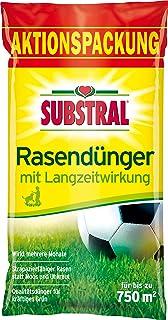 Substral Rasendünger, mit Langzeitwirkung, 100 Tage Langzeitdüngung, staubfreies..