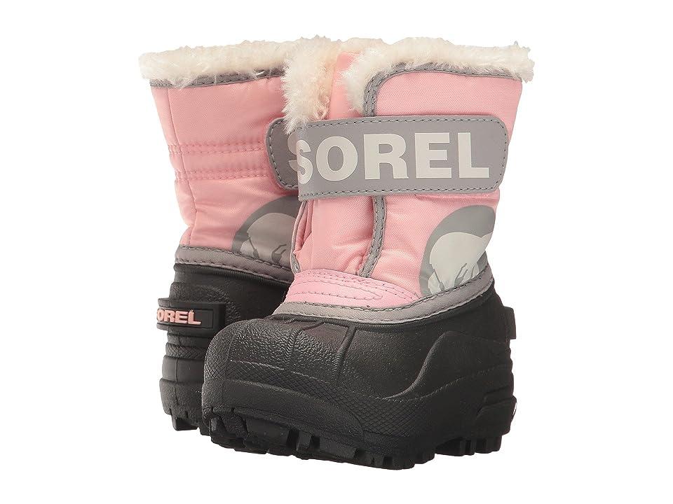 SOREL Kids Snow Commander (Toddler) (Cupid/Dove) Girls Shoes
