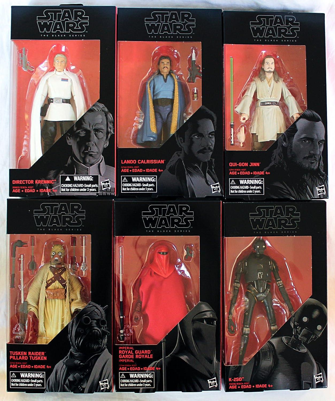 Star Wars Black Series 6 Inch Action Figures - Wave 11 Set Of 6