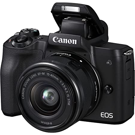 Canon Eos M50 Systemkamera Spiegellos Mit Objektiv Kamera