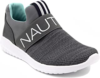 Nautica Women Fashion Slip-On Sneaker Jogger Comfort Running Shoes