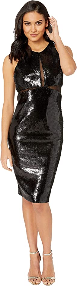 Splice Sequin Dress