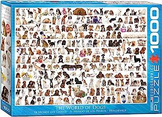 Eurographics 1000pcs - The World of Dogs
