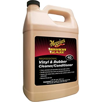 Meguiar's Vinyl and Rubber Cleaner/Conditioner - 1 Gallon
