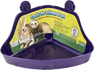 Ware Manufacturing Plastic Lock-N-Litter Pan for Small Pets, Colors May Vary