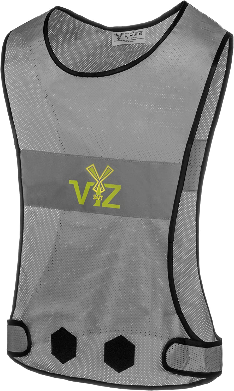 247 Viz Title Blaze Reflective Branded goods Running Popular overseas 360Ë- Safety Gear Vest
