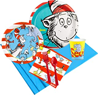 BirthdayExpress Dr Seuss Party Pack for 32