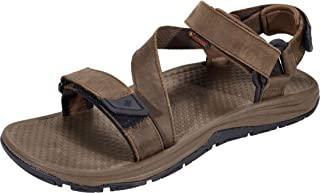Columbia Men's Big Water Leather Athletic Sandal