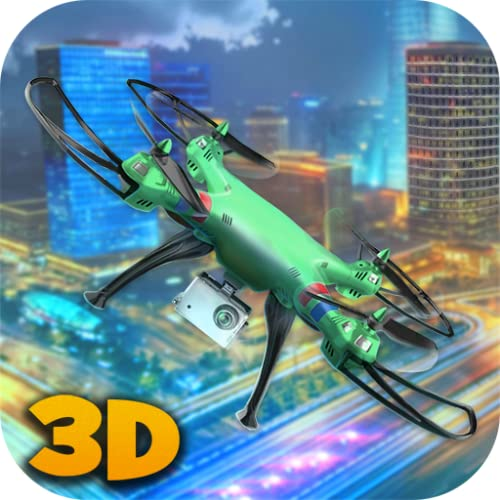 RC Drone Simulator: Crime City | Gangster Town Drone Flight Simulator | Crime City Quadcopter Simulator | Gang City Multirotor Sim