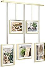 Umbra - 1013426-221 عرض إطار الصور مجموعة عرض الصور قابل للتعديل لعرض 5 صور ومطبوعات وعمل فني وأكثر (يحمل صورتين مقاس 4 × ...