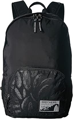 Sanctuary Noir Textured Simple Everyday Backpack