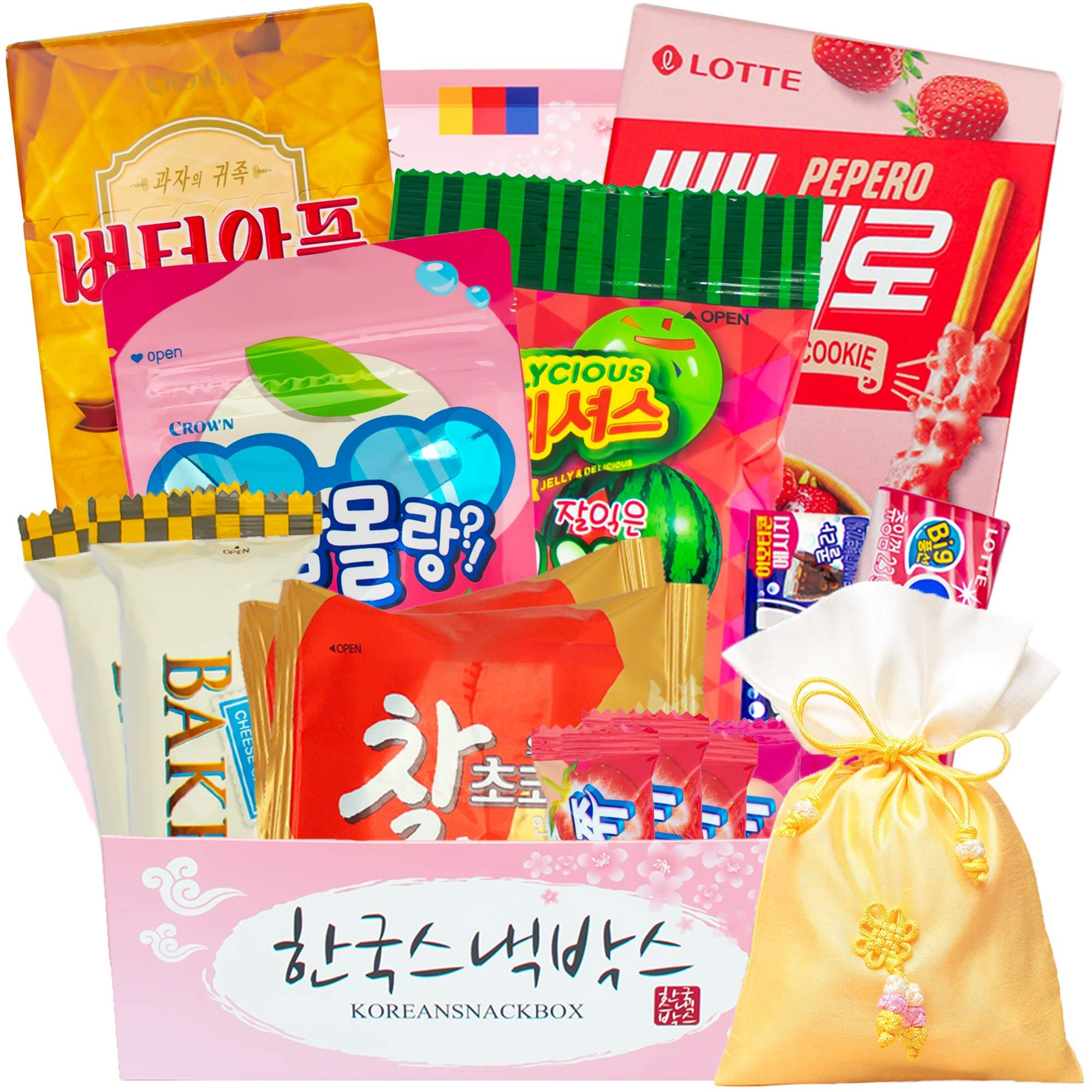 Korean Snack Box - Monthly Korean Snack & Candy Subscription Box