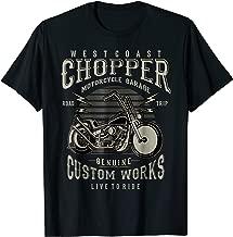 West Coast Chopper Motorcycle T-Shirt