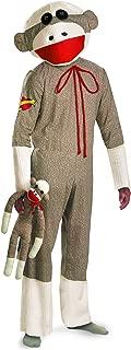 Unisex - Adult Sock Monkey Costume