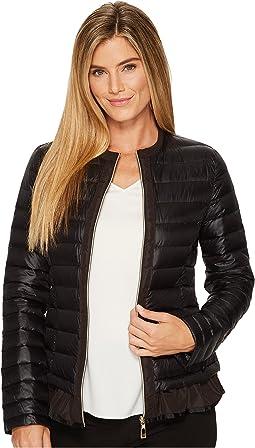 Ivanka Trump - Flutter Hem Packable Jacket