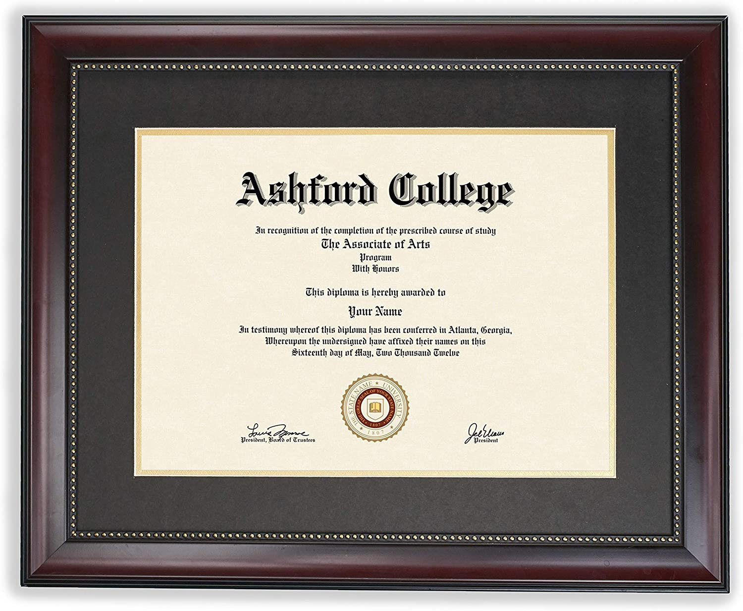 GreyBL 11x14 Diploma Max 76% OFF Frame - Certificate Displays Dallas Mall with Ma 8.5x11
