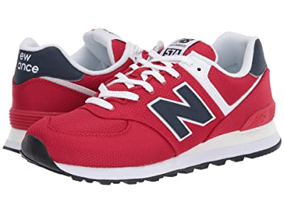 New Balance Classics ML574v2 (Team Red/Natural Indigo) Men
