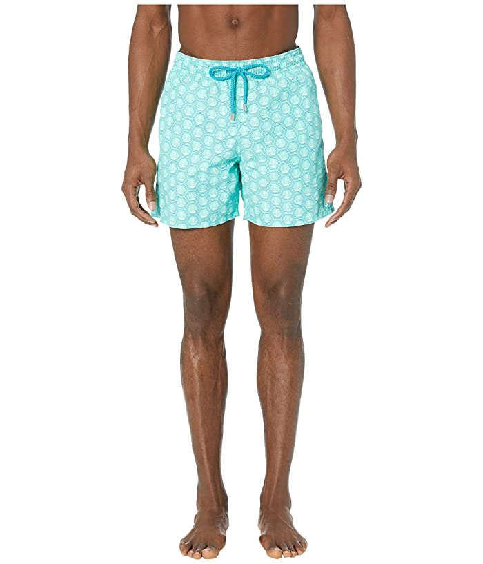Vilebrequin Ancre De Chine Moorea Swim Trunks (Mint) Men