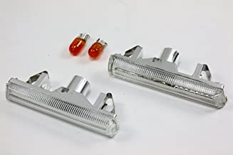 Side Markers Indicators Lights- Bulb Clear for 2001-2006 BMW E46 M3 & 1995-2001 E38